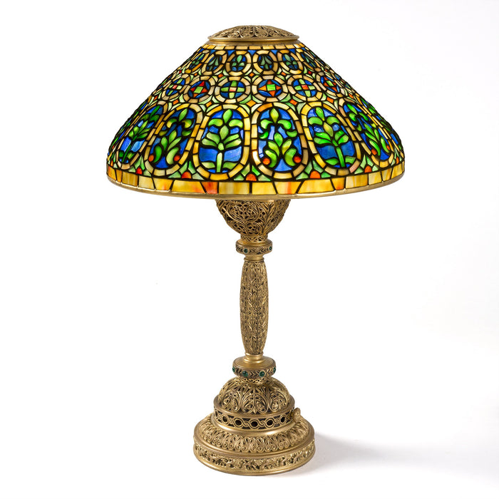 "Macklowe Gallery Tiffany Studios New York ""Venetian"" Desk Lamp"