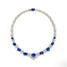 Macklowe Gallery No-Heat Sapphire and Diamond Garland Necklace
