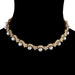 "Macklowe Gallery Van Cleef & Arpels Diamond and Pearl Gold ""Star"" Collar Necklace"