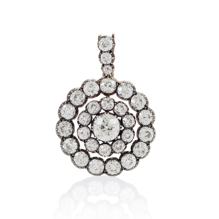 Macklowe Gallery Convertible Diamond Drop Pendant