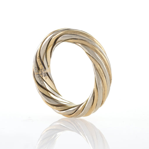 Macklowe Gallery Van Cleef & Arpels Twisted Gold Ring