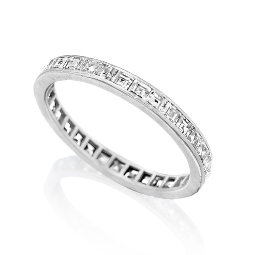 Macklowe Gallery Tiffany & Co. Diamond Eternity Band Ring