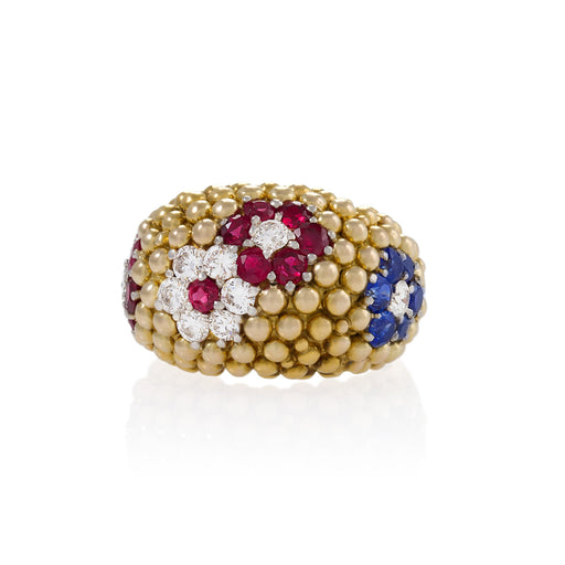"Macklowe Gallery Van Cleef & Arpels ""Bagatelle"" Ring"