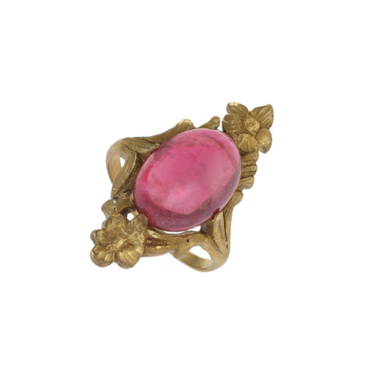Macklowe Gallery Pink Tourmaline Gold Ring