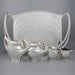 Macklowe Gallery Paul Follot Silver Coffee and Tea Service Set