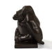 "Macklowe Gallery Georges Lucien Guyot ""Seated Gorilla"" Bronze Sculpture"