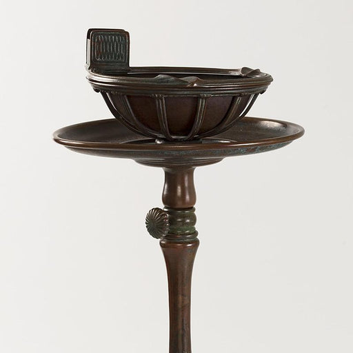 Macklowe Gallery Tiffany Studios New York Patinated Bronze Ash Tray Stand