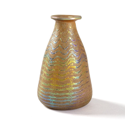 "Macklowe Gallery Tiffany Studios New York Favrile and ""Cypriote"" Glass Vase"