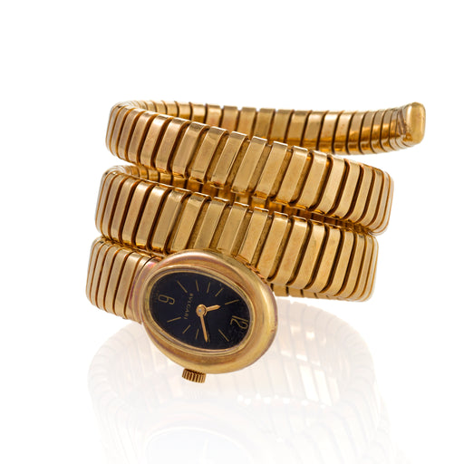 Macklowe Gallery Bulgari Serpenti Tubogas Bracelet Watch