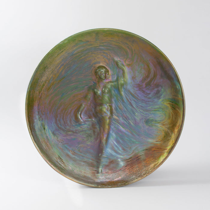 "Macklowe Gallery Clement Massier ""La Danse"" Glazed Ceramic"