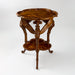 "Macklowe Gallery Émile Gallé French Walnut ""Libellules"" Two-Tiered Table"