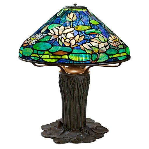 "Macklowe Gallery Tiffany Studios ""Flowering Water Lily"" Table Lamp"