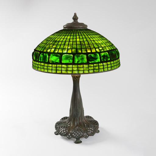 "Macklowe Gallery Tiffany Studios New York ""Belted Turtleback"" Table Lamp"