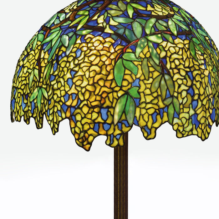 "Macklowe Gallery Tiffany Studios New York ""Laburnum"" Floor Lamp"