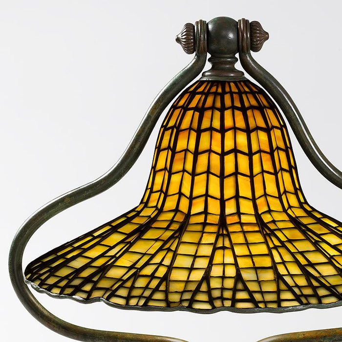 "Macklowe Gallery Tiffany Studios New York ""Lotus Bell"" Desk Lamp"