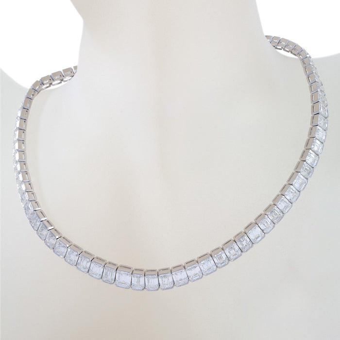 Macklowe Gallery Kaufmann de Suisse Diamond Rivière Necklace