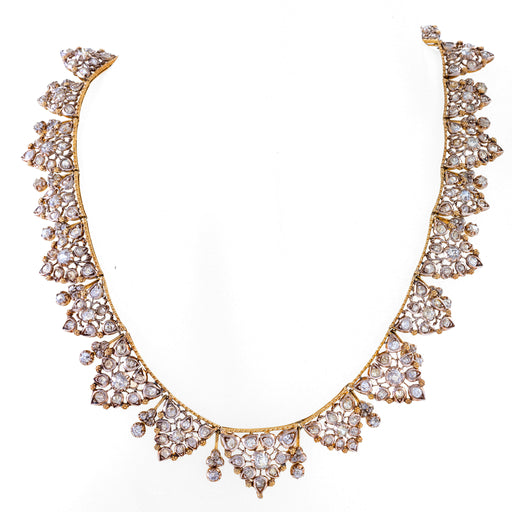 Macklowe Gallery | Buccellati Diamond Leaf Fringe Necklace
