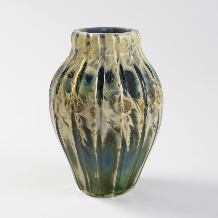 "Macklowe Gallery Tiffany Studios New York Favrile Glass ""Agate"" Vase"