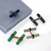 Macklowe Gallery Cartier Set of Interchangeable Baton Cuff Links