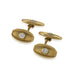 Macklowe Gallery Tiffany & Co. Gold and Diamond Cuff Links