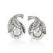 Macklowe Gallery Diamond Flower Earrings