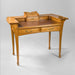 Macklowe Gallery École de Nancy Mahogany and Leather Writing Desk