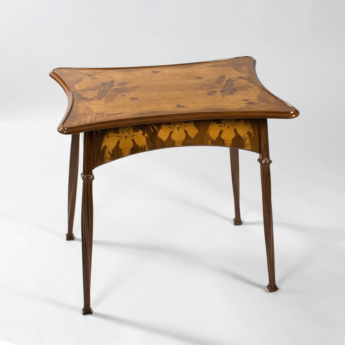 Macklowe Gallery Louis Majorelle Fruitwood Marquetry Table