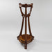 Macklowe Gallery Jacques Grüber Three-Tier Walnut Pedestal
