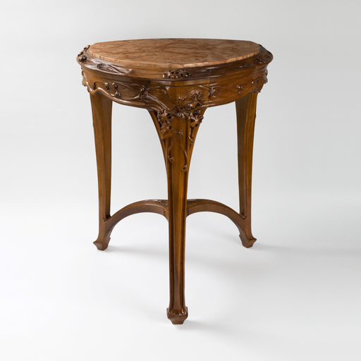 Macklowe Gallery Louis Majorelle Rosso Verona Marble Top Guéridon Table
