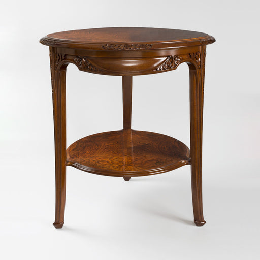 Macklowe Gallery Louis Majorelle Two-Tiered Mahogany Table