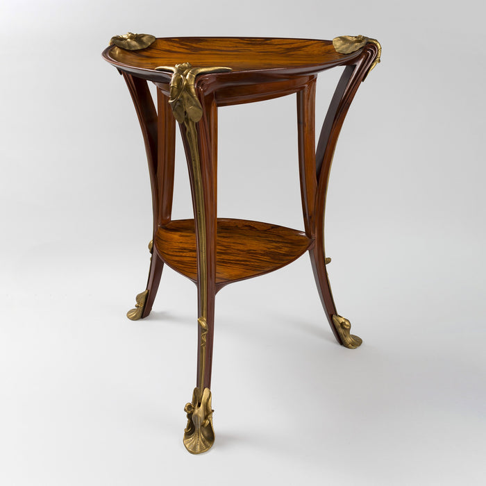 "Macklowe Gallery Louis Majorelle ""Aux Nénuphars"" Two-Tier Table"