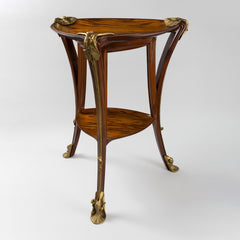 "Louis Majorelle ""Aux Nénuphars"" Two-Tier Table"