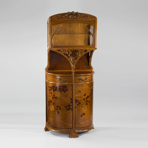 Macklowe Gallery Camille Gauthier Walnut and Glass Vitrine