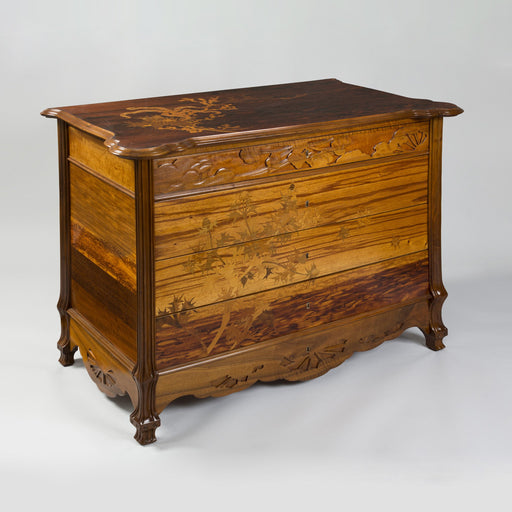 "Macklowe Gallery Émile Gallé ""Chardons des Sables"" Chest of Drawers"