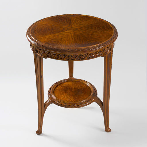 Macklowe Gallery Louis Majorelle Two-Tiered Pedestal Side Table