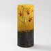 Macklowe Gallery Daum Nancy Enameled and Etched Floral Landscape Glass Vase