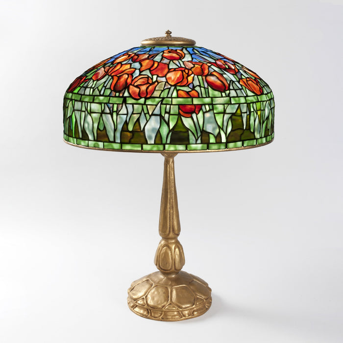 "Macklowe Gallery Tiffany Studios New York ""Tulip"" Table Lamp"