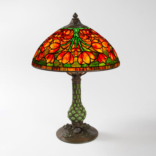 "Macklowe Gallery Tiffany Studios New York ""Crocus"" Table Lamp"