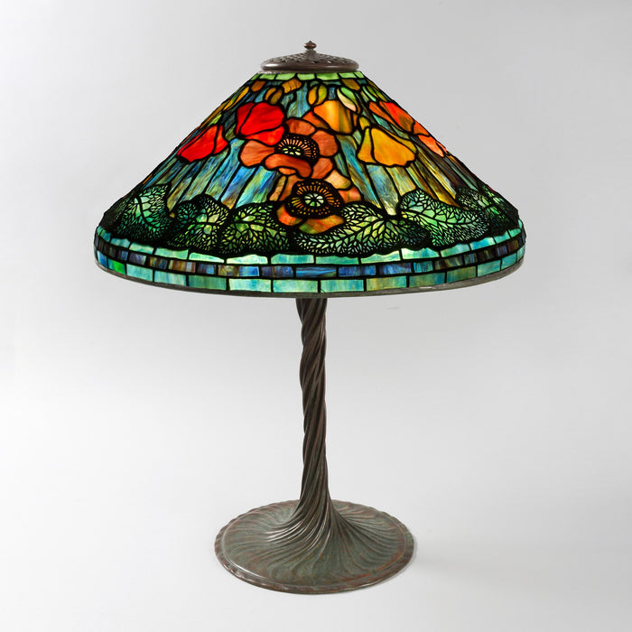 "Macklowe Gallery Tiffany Studios New York ""Poppy"" Table Lamp"