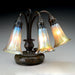 "Macklowe Gallery Tiffany Studios New York ""Three Light Lily"" Desk Lamp"
