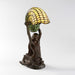 "Macklowe Gallery Tiffany Studios New York ""Nautilus"" Table Lamp With ""Mermaid"" Base"