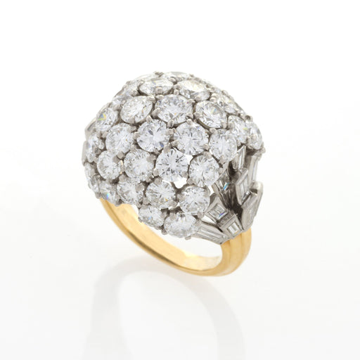 Macklowe Gallery Boucheron Paris Diamond Bombé Ring