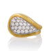 Macklowe Gallery Kutchinsky Gold and Diamond Ring
