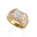 Macklowe Gallery Bulgari Emerald-Cut Diamond Solitaire Ring