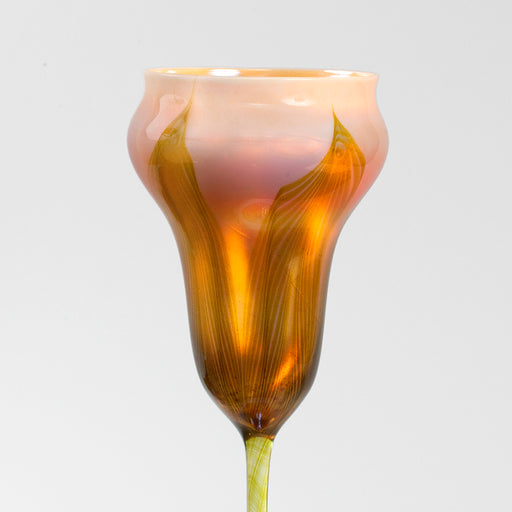 Macklowe Gallery Tiffany Studios New York Flower Form Favrile Glass Vase