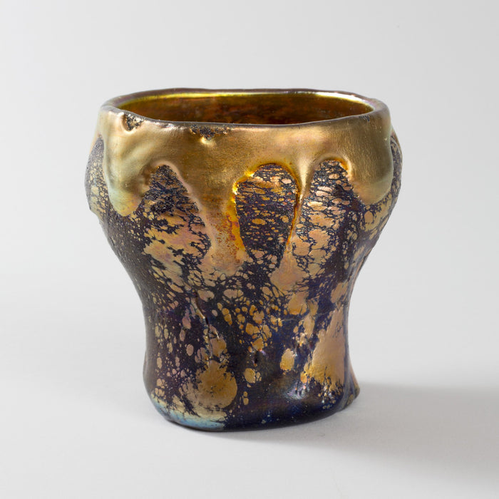 "Macklowe Gallery Tiffany Studios New York ""Lava"" Glass Vase"