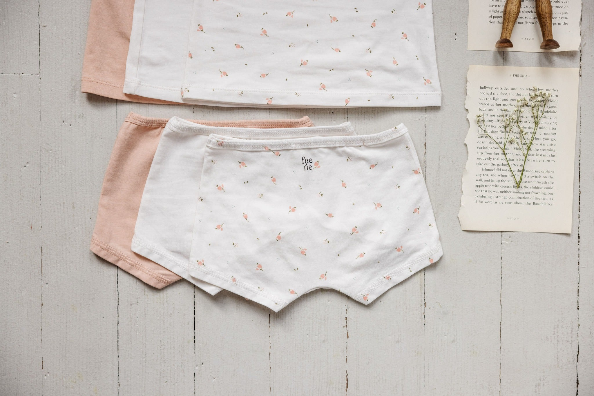 Girl's Undies Set-Shorts