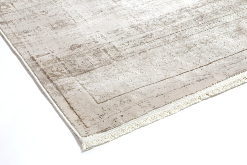 Bohemian Traditional Beige Rug