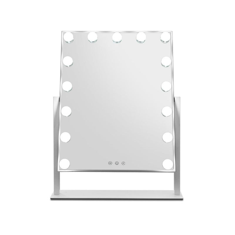 Embellir Hollywood Makeup Mirror with 15 Dimmable Bulb Lighted Dressing Mirror
