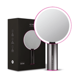 "Amiro 8"" Smart Lighted Makeup Mirror with Natural Daylight LED Lights Black"